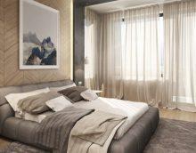 Design moderne d'une petite chambre à coucher en 2019: photos et idées d'intérieurs