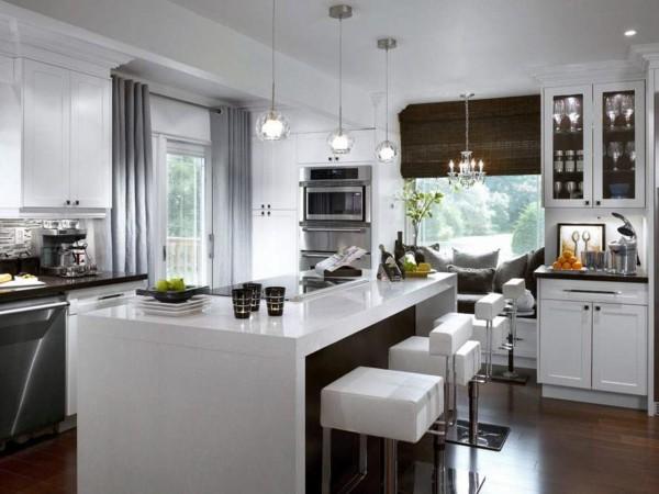 mūsdienu virtuve-aizkari