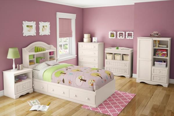 blanc-chambre-mobilier-pour-filles