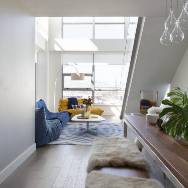 Skandināvu stila istabu noformējums