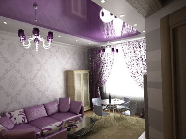Hotel options for finishing ceilings