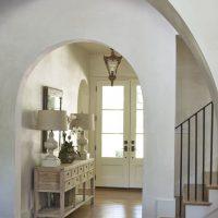 belle arche dans le style de la photo du couloir