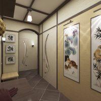 skaista arka viesistabas attēla stilā