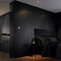 viļņotas tumšas tapetes gaiteņa attēla stilā