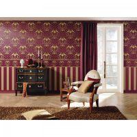 skaistas tumšas tapetes istabas attēla stilā