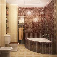 gaišā dekoratīvā interjera dzīvokļa foto