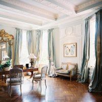 košā franču stila dzīvokļa dizaina foto