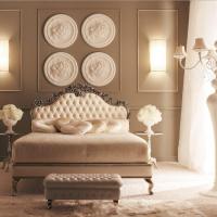 gaismas dekoru franču stila viesistabas foto