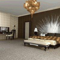 šviesus interjero kambarys dekoro stiliaus dailės paveiksle