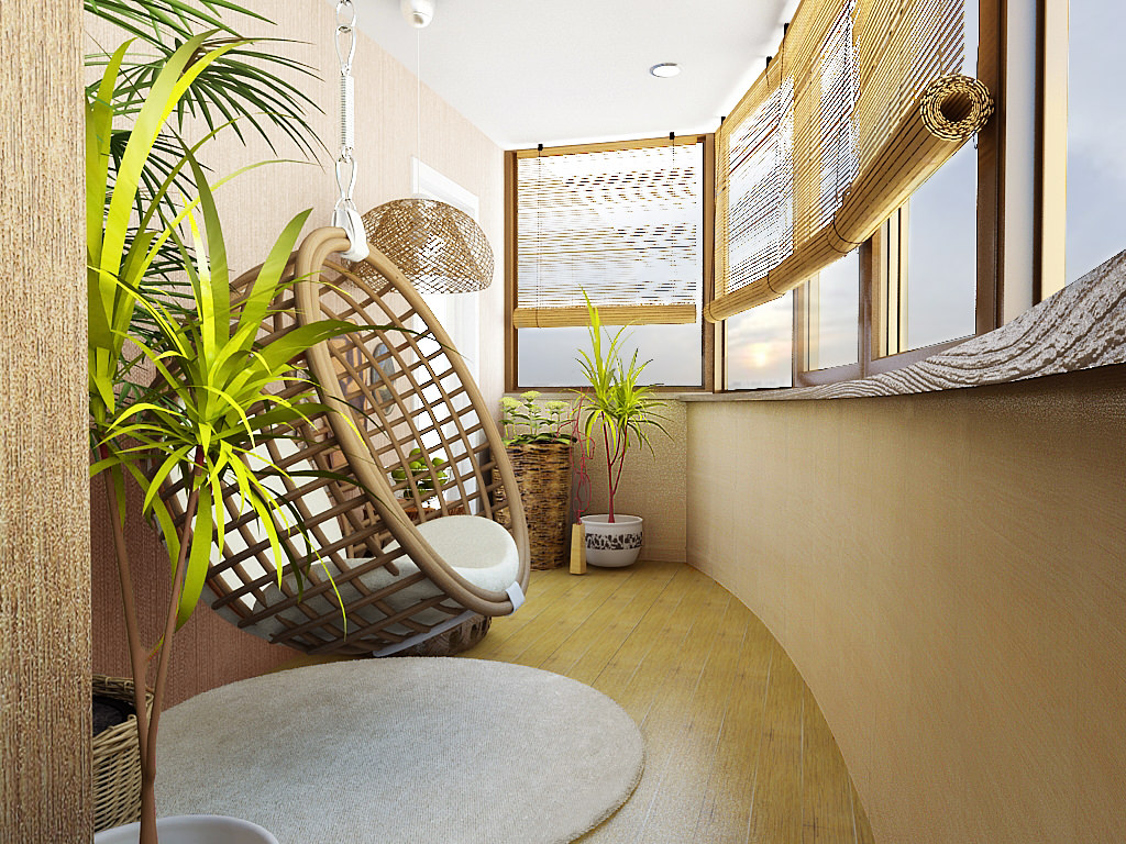 skaists eko istabas dizains