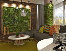 Bagātīgs eko stila koridora attēls