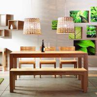 gaiša eko istabas dizaina bilde