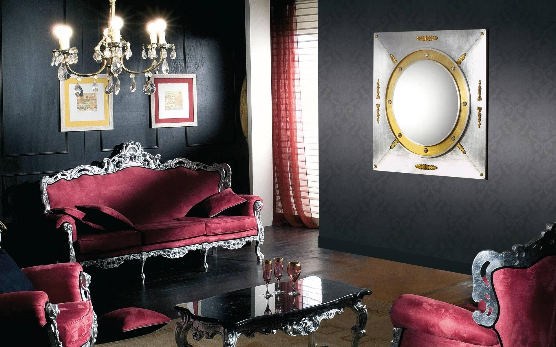 viļņotas tumšas tapetes guļamistabas stilā
