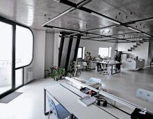 chambre de style chic en photo de style haute technologie
