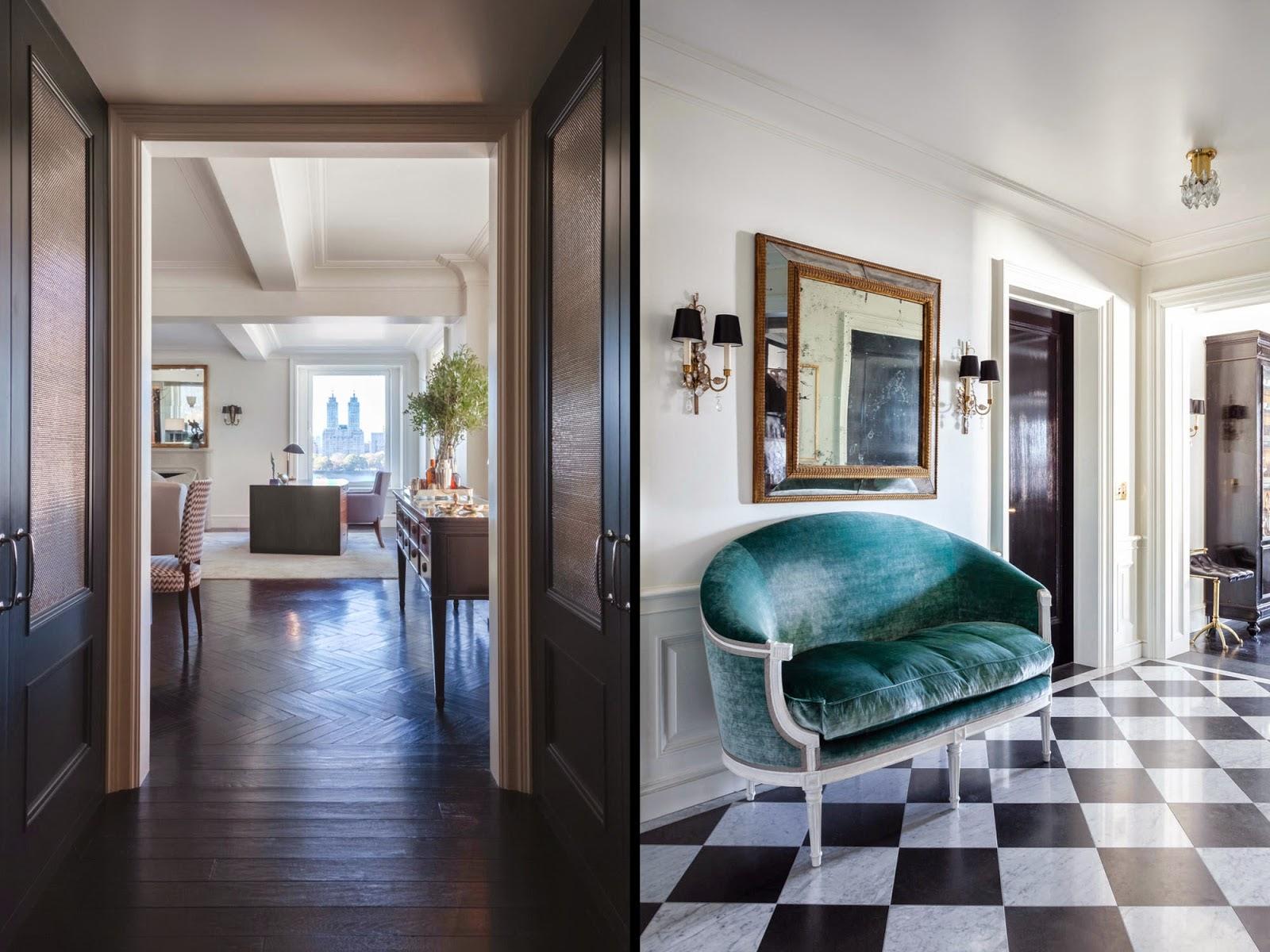 gražus namų interjeras art deco stiliaus