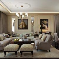 gražus buto interjeras dekoratyvinės dailės nuotraukos stiliumi