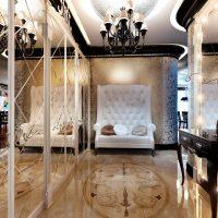 šviesaus stiliaus namai art deco stiliaus nuotraukoje