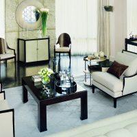 gražaus stiliaus dekoravimo kambario paveikslas