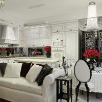 gražaus stiliaus namų dekoravimo meno nuotrauka