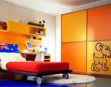gražus svetainės interjeras įvairių spalvų nuotrauka