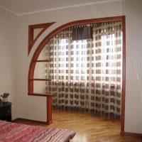 skaista arka koridora attēla stilā