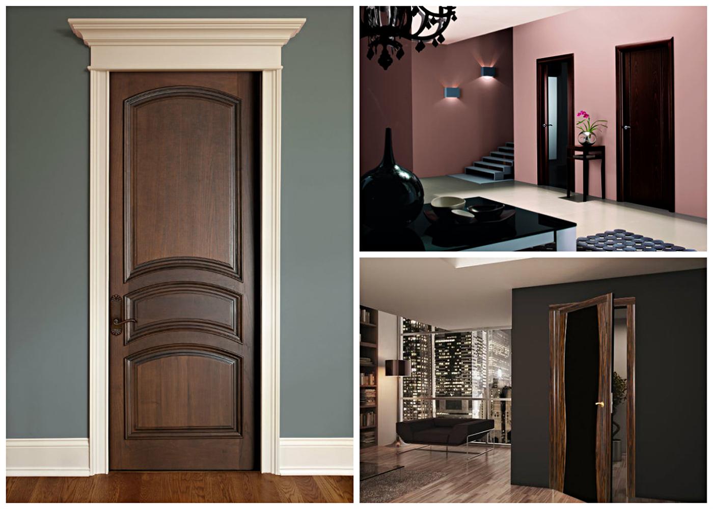 gaišas durvis guļamistabas dizainā