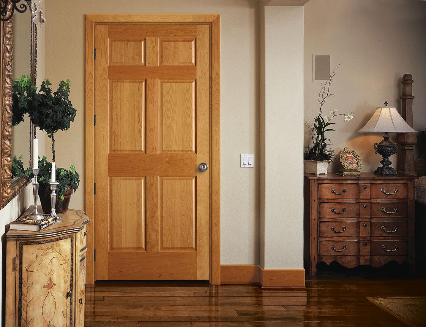 gaišas virtuves stila durvis