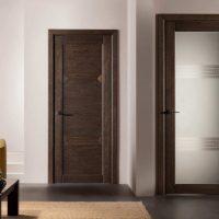 gaišs gaiteņa stila durvju attēls
