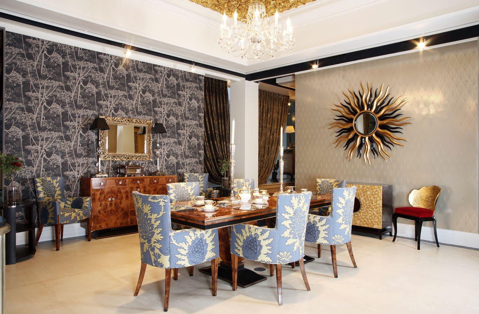 skaists art deco koridora dizains