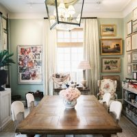 skaists dzīvokļa interjers franču stila fotoattēlā