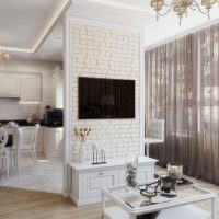 spilgti franču stila virtuves dekoru foto