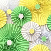 papīra ventilators guļamistabas dizaina attēlā