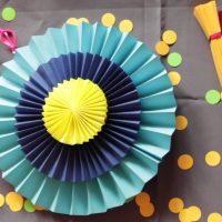 papīra ventilators koridora dizaina fotoattēlā