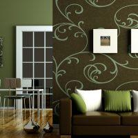 svītrains tumšās istabas stila fona attēls