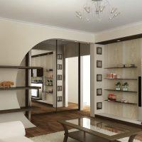spilgta arka dzīvojamās istabas foto noformējumā