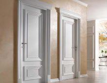portes lumineuses dans la conception du couloir
