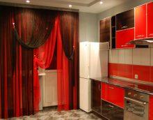 rideaux de filaments légers dans la conception de la chambre