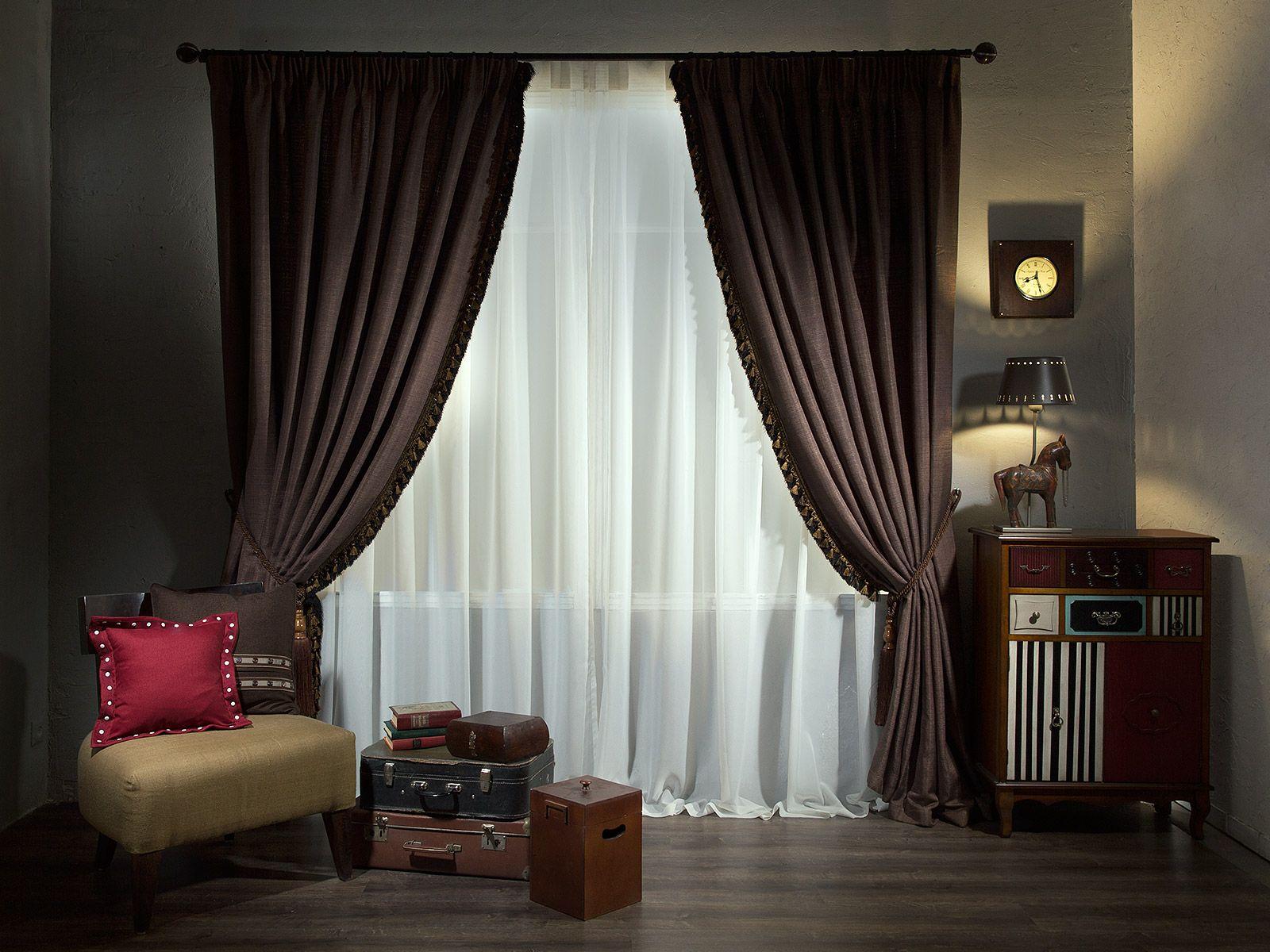 skaists guļamistabas dekors šokolādes krāsā