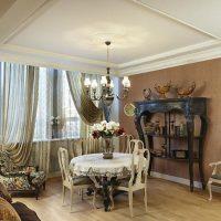 skaists guļamistabas dekoru franču stila foto