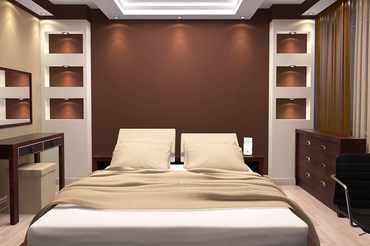 skaists dzīvokļa stils šokolādes krāsā