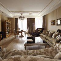 gražaus stiliaus butas dekoratyviniame meno paveiksle