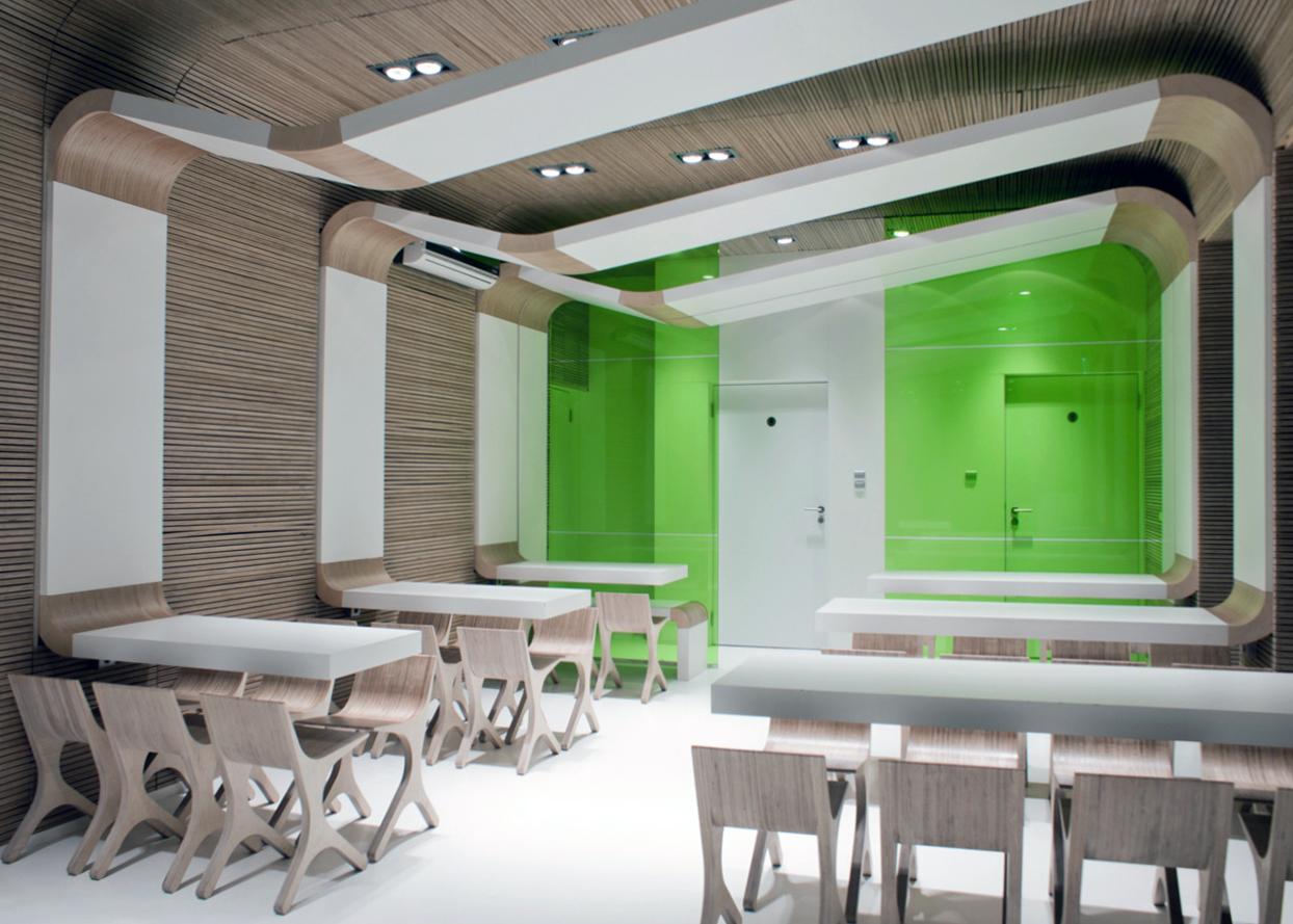 gaiša eko stila istaba