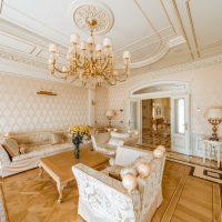 skaists eko stila istabas foto
