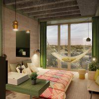 spilgts eko istabas dizaina attēls