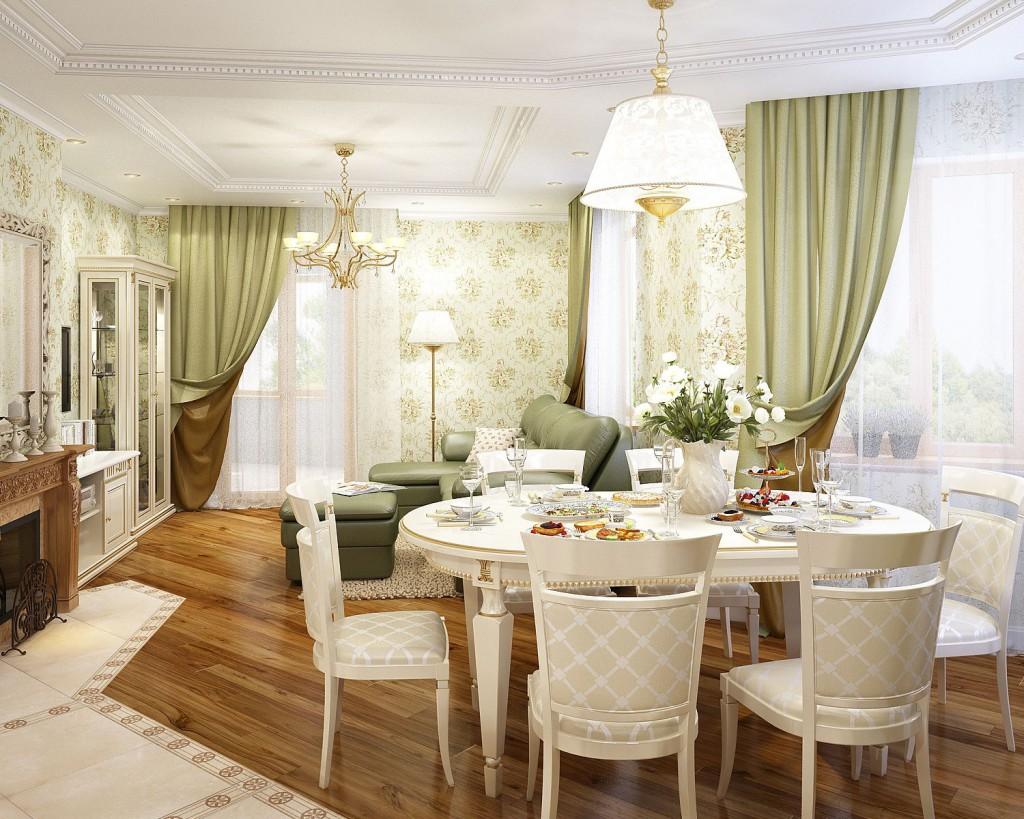 košs franču stila dzīvokļa dizains
