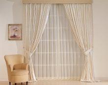 tulle de soie brillant à l'intérieur de la chambre