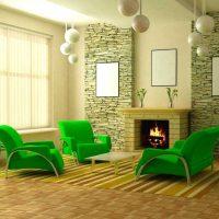 neparasta pistāciju krāsa guļamistabas attēla stilā