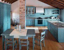 elitārā jūgendstila virtuves foto gaišs dekors