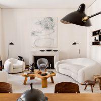 mājīga gaišā stila dzīvokļa bilde