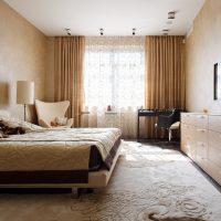 mājīgs skaista stila guļamistabas foto
